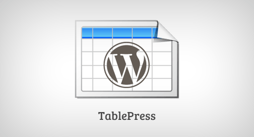 TablePress  - tablrepress - Must Have WordPress Plugins