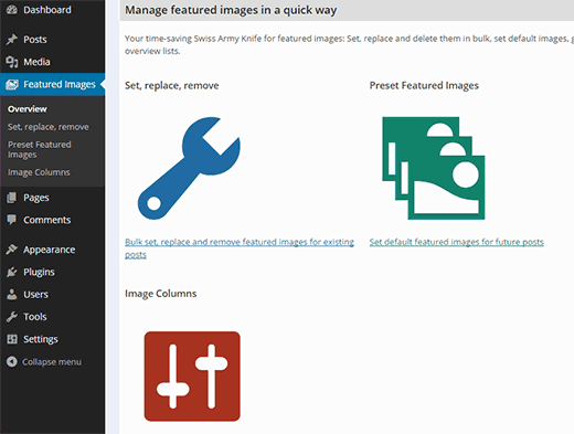 quick-featured-images-settings