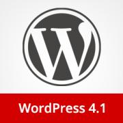 What's New in WordPress 4.1