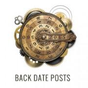 Backdating blog posts wordpress