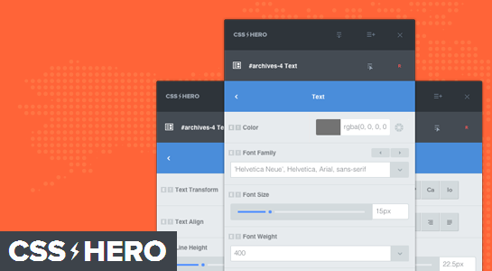 CSS Hero - A point and edit CSS tool for WordPress Beginners