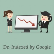 Why my WordPress site got de-indexed from Google? What can I do to fix it?