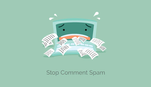 Comment spam