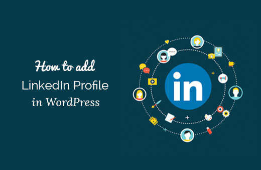 How to Add Your LinkedIn Profile to WordPress
