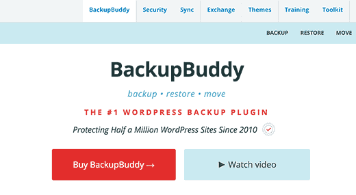Buy BackupBuddy