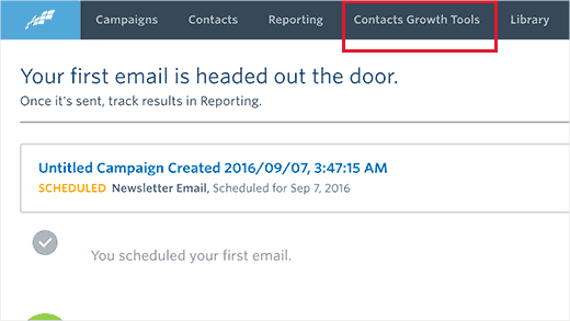 Contacts growth tools