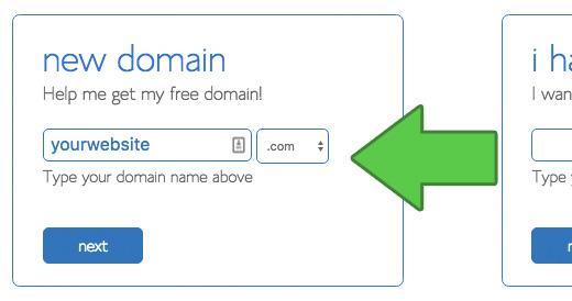 Pilih Nama Domain Anda