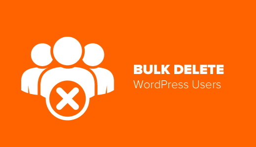 Bulk Delete WordPress Users