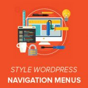 How to Style WordPress Navigation Menus