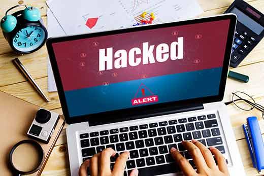 homepage situs web dirusak setelah hacking
