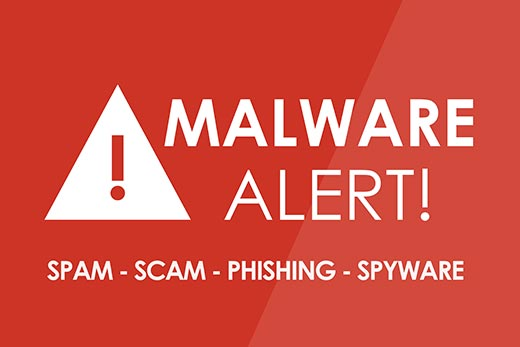 Spam and malware injection