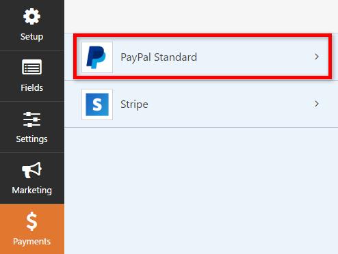 het opzetten van paypal-donaties