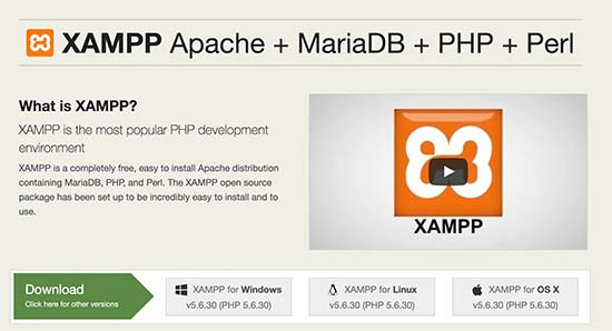 Download XAMPP