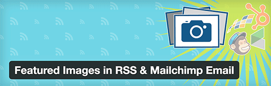 Featured images in RSS and MailChimp Emails