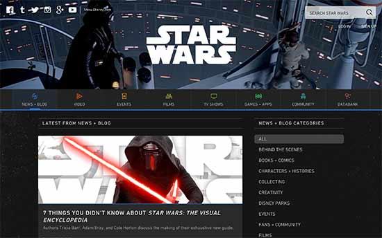 Resmi Star Wars Blogu