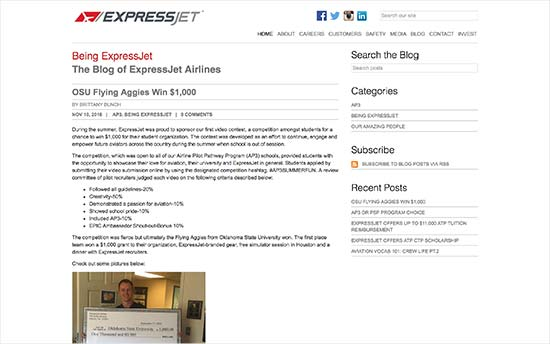 ExpressJet Blog