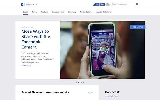 Facebook Haber Merkezi