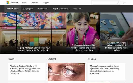 Microsoft Haber Merkezi
