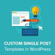 How to create custom single post templates in wordpress maxwellsz