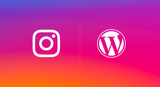 Instagram and WordPress