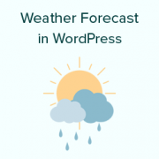 Open Weather Map Api Example.How To Show Weather Forecast In Wordpress