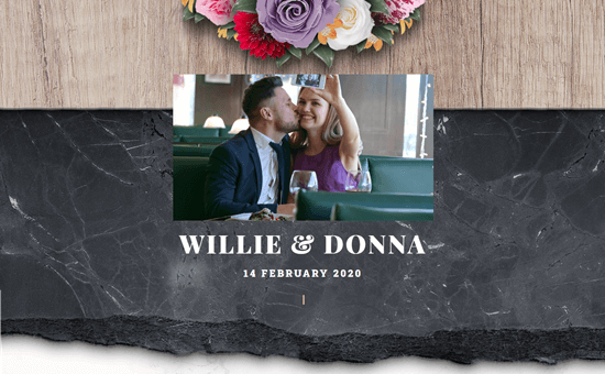 Astra's Wedding Invitation template
