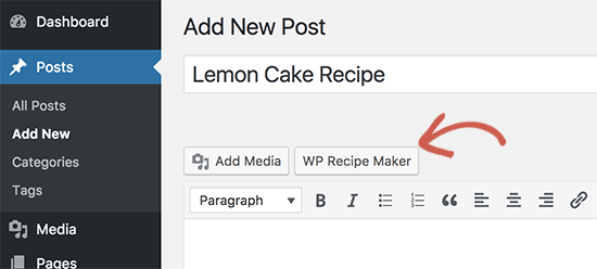 Launch recipe maker