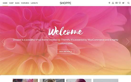Shoppe | قالب ووکامرس
