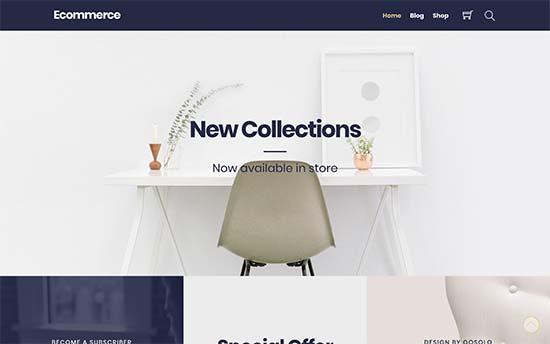 Ultra eCommerce | قالب ووکامرس