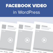 How to Embed a Facebook Video in WordPress