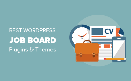 WordPress job board plugin and themes