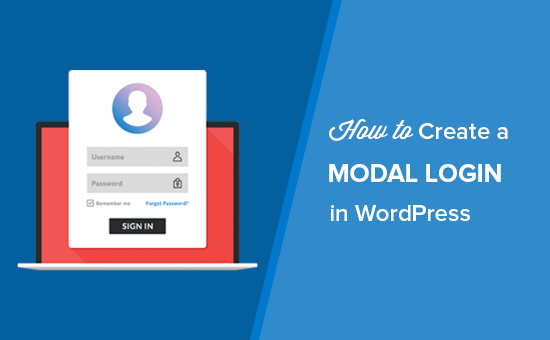 How to Create a Modal Login in WordPress