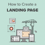 How to Create a Landing Page With WordPress