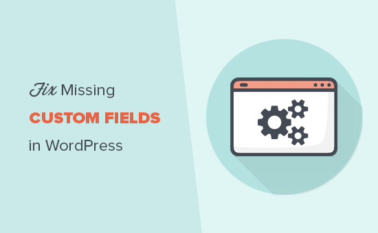 Fix missing custom fields in WordPress