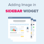 How to Add an Image in WordPress Sidebar Widget