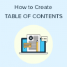 How to Create a Table of Contents in WordPress Posts and Pages