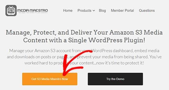 Media Maestro website