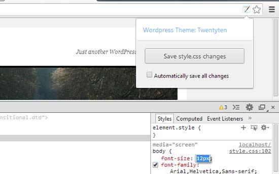 WordPress tarzı editörü