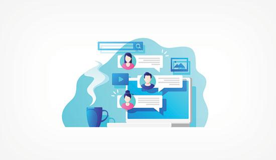 Participate in online communities blog traffic