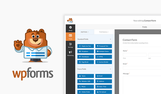 WPForms Best WordPress Contact form plugin