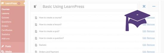 LearnPress Plugin gratuito per il sistema di gestione dell'apprendimento di WordPress