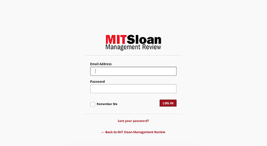 MITSLoan Management Review