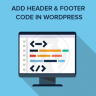 Easily Add Code to WordPress Header and Footer