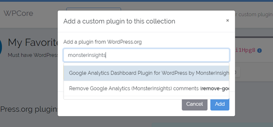 Search Plugin to Add in Your WPCore Plugin Collection