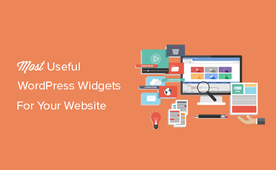 Most useful WordPress widgets for your website