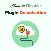How to Prevent Clients from Deactivating WordPress Plugins