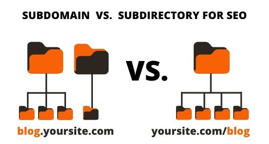 Subdomain vs subdirectory for SEO