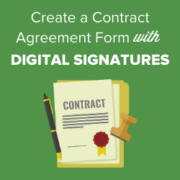 How to Create a Contract Agreement Form with Digital Signatures in WordPress