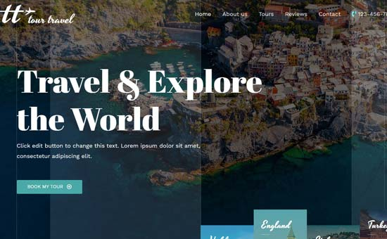 Astra Travel Theme