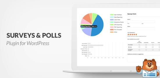 Componente aggiuntivo Sondaggi e sondaggi di WPForms